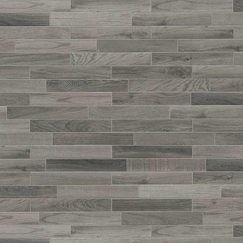 Vloertegel Jos Strucco Plaster Wood 6.5x40 cm Silver Prijs P/m2