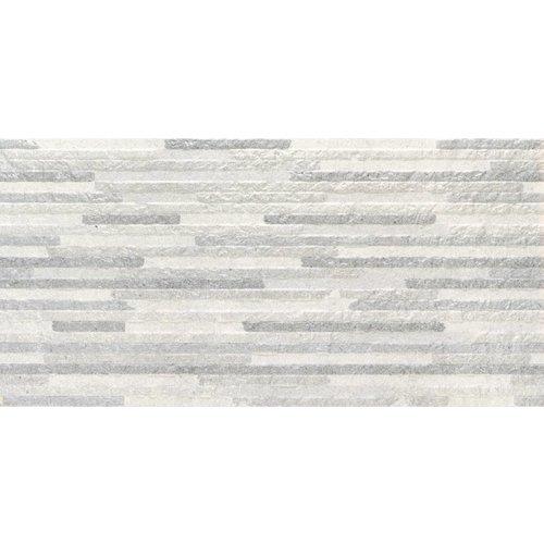 Wandtegel Syrma Silver Decor 30x60 rett Prijs P/m2