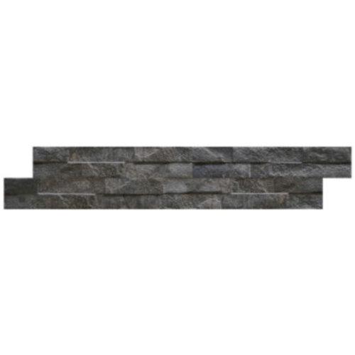 Wandtegel Rock Black 7,5x38,5 (Doosinhoud 0,75 M²)