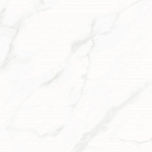 Vloertegel Racer Hoogglans Marmerlook Carrara 60.8x60.8 cm Prijs P/m2