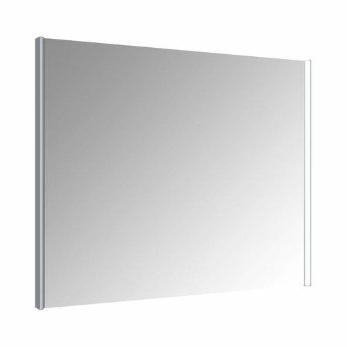 Spiegel Allibert Ikari Dubbele LED Verlichting Zijkanten 100x70cm Aluminium Profiel