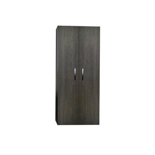 Kolomkast Sanicare Q1/Q12/Q17 2-Deurs Soft-Closing Chromen Greep 160x67x32 cm Schots-Eiken