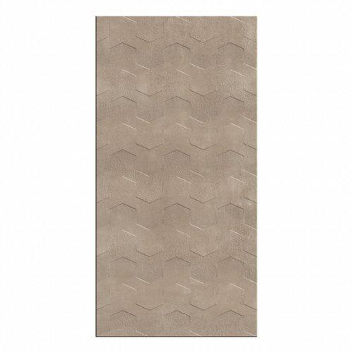 Wandtegel Cristacer Trident Taupe Decor 45x90cm Prijs P/m2