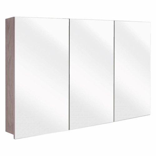 Spiegelkast Differnz The Collection Concept 100x62x15 cm Grijs