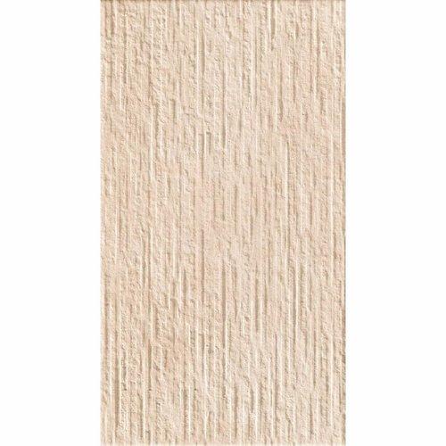 Vloertegel Cristacer Calanda Relieve Crema 33x60 (Doosinhoud 1.00 m²)
