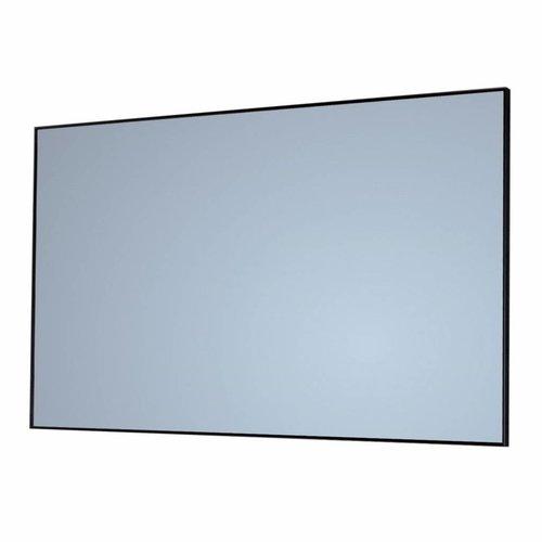 Badkamerspiegel Sanicare Q-Mirrors 120x70x2cm Zwart