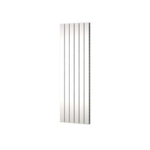 Designradiator Plieger Cavallino Retto Dubbel 1716 Watt Middenaansluiting 200x60,2 cm Wit