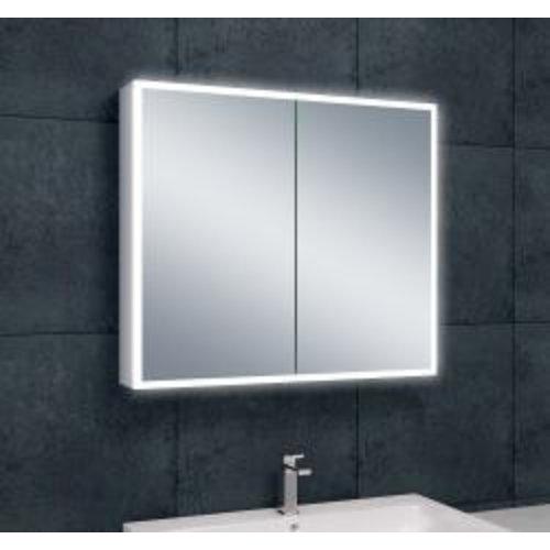 Wiesbaden Quatro spiegelkast +verlichting 80x70x13