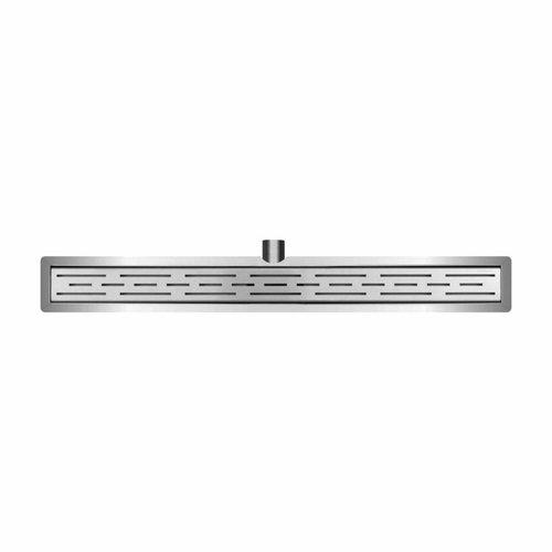 RVS 3e GEN.douchegoot+flens +RVS sifon +filter 90x7