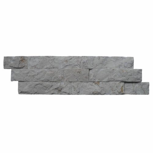 Steenstrips 03 White  Marmer 15x50 cm (Prijs per M²)