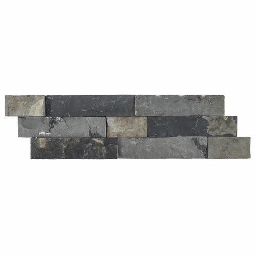 Steenstrips 01 Gray Brown Marmer 15x50 cm (Prijs per M²)