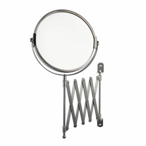 Scheerspiegel Haceka Ixi Cosmetica Spiegel Wandmodel RVS