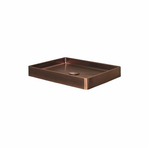 Opzetwastafel Lanesto Vanity 52x41x7 cm RVS Copper