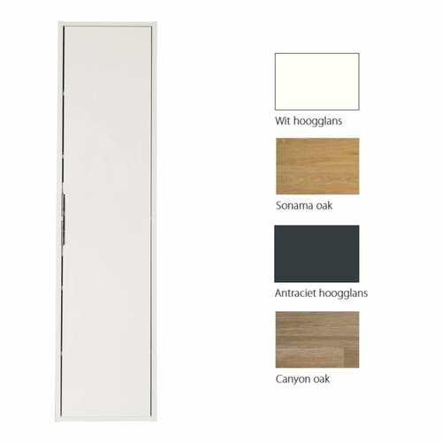 Kolomkast Siena 170cm 35x35cm (verkrijgbaar in 4 kleuren)