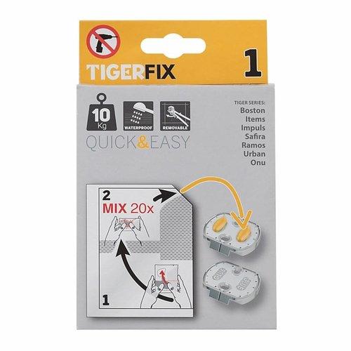 Muurplaatje Tiger TigerFix type 1