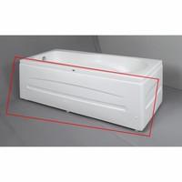 Ligbad Acryl 180x80x60 cm Wit