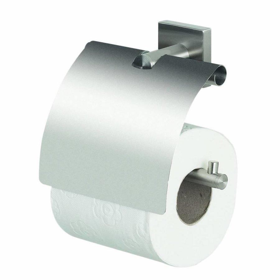 Toiletrolhouder Met Klep Spirella Nyo Inox