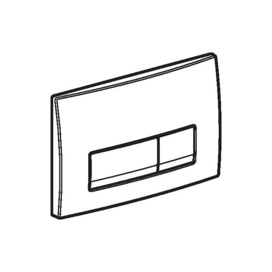 Drukplaat Delta 51 Mechanisch Frontbediening (3 Kleuren)