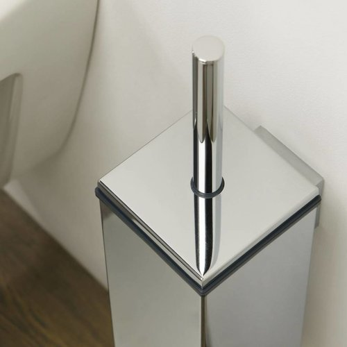Toiletborstelhouder Items Muur Chroom 38 Cm