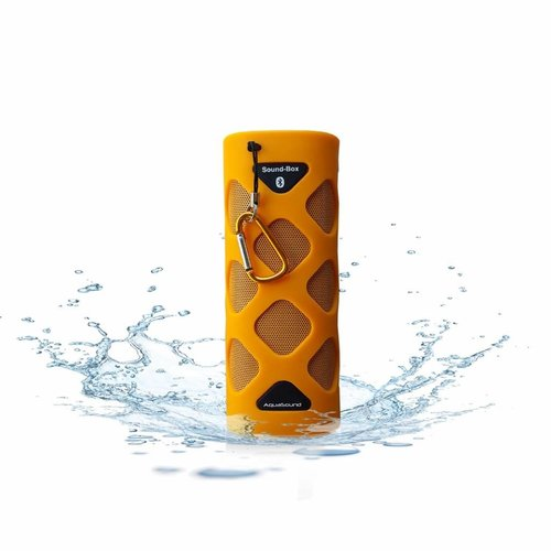 Bluetooth Sound-Box Waterproof (Ipx5) + Usb Oplaadkabel Oranje