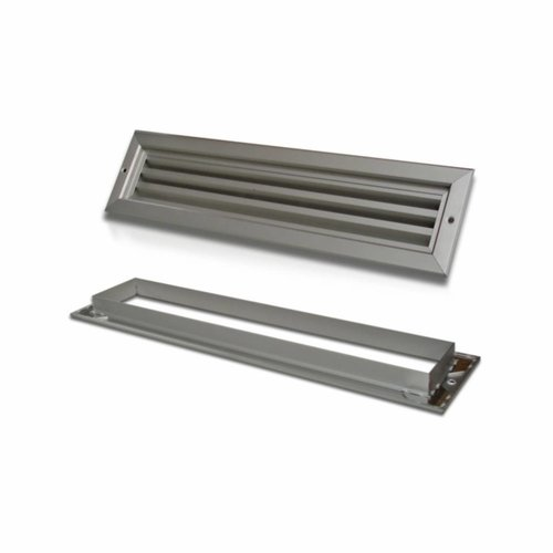 Deurrooster Aluminium 53.8 Cm