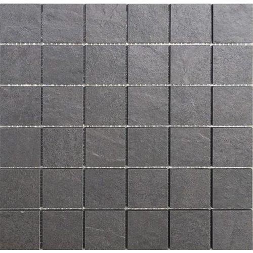 Cardoza Adria Antracite 5X5, Mat (Prijs per Matje)