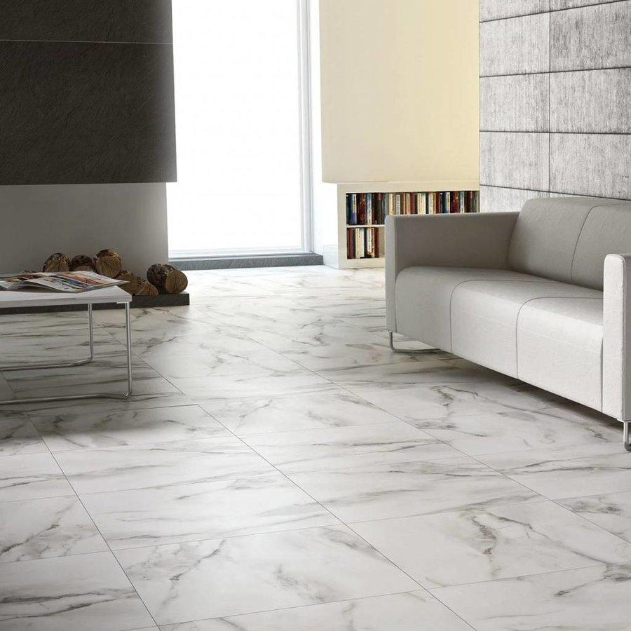 Vloertegel Carrara Mat 60X60Cm P/M²