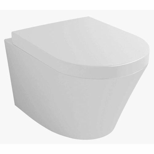 Hangtoilet Vesta Diepspoel QuickRelease (Inclusief Zitting)