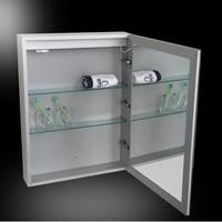Spiegelkast Aluma Incl. Led Verlichting 60X80Cm