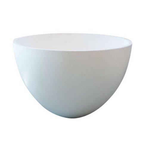 Waskom Just Solid Surface Opbouw Eco 54 Cm Glans Wit