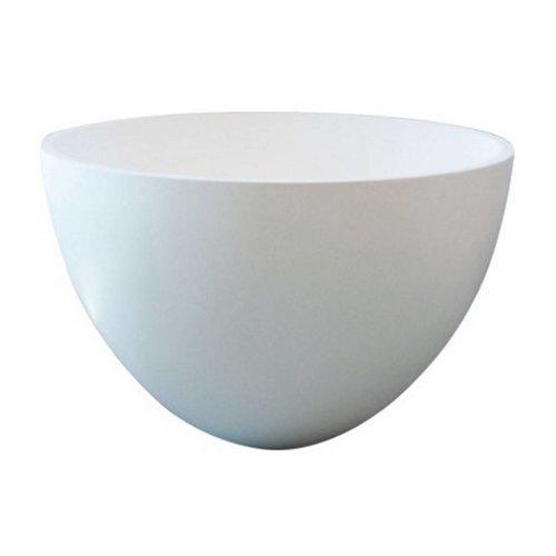 Waskom Just Solid Surface Opbouw Eco 48 Cm Glans Wit
