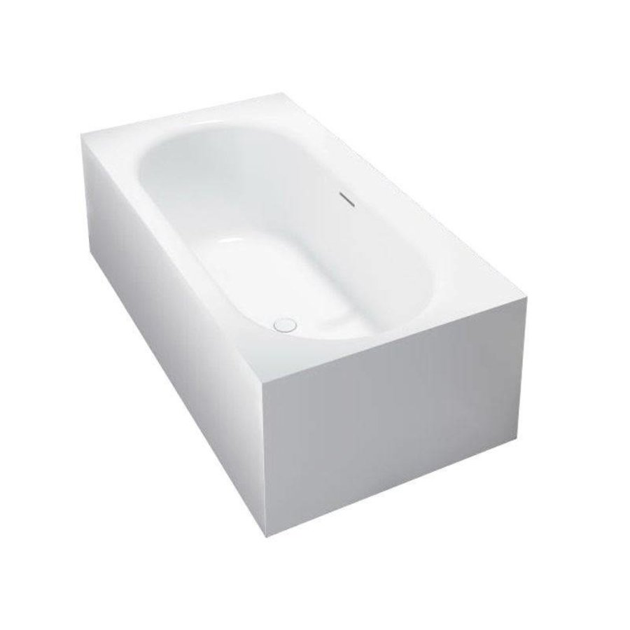 Vrijstaand Bad Home 180X93X55Cm Solid Surface