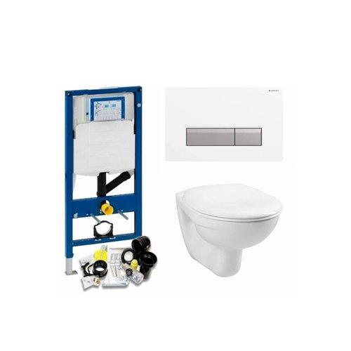 Duofresh Up320 Toiletset 03 Megasplash Basic Smart Met Bril En Drukplaat