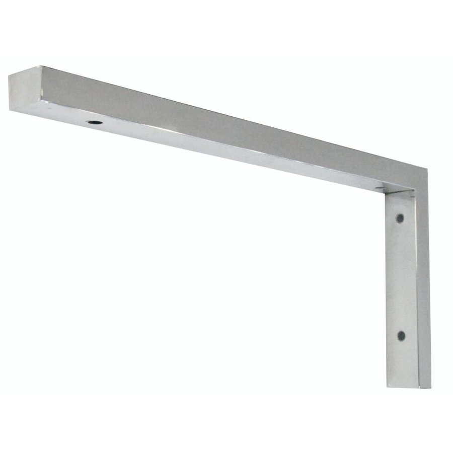 Chroom L- Supportbeugel 46X22