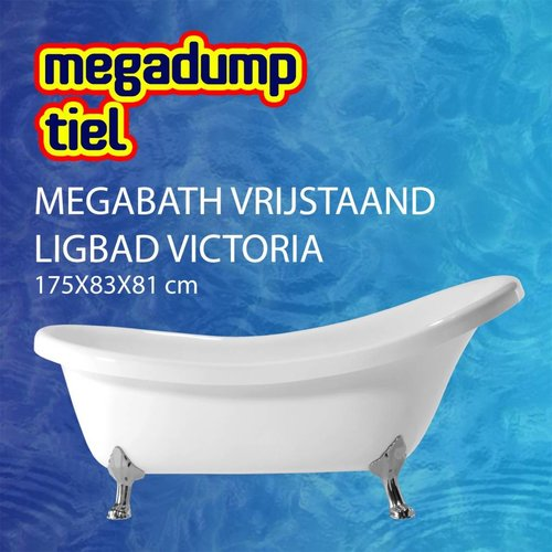 Vrijstaand Ligbad Victoria 175X83X81 Cm