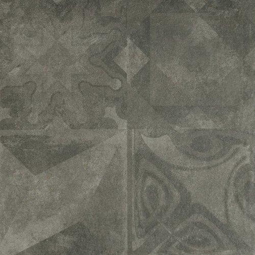 Vloertegel Astoria Grafito Decor 60X60 P/M²