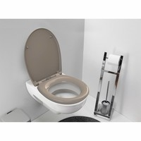 Wc-Zitting Fally Taupe Soft-Close