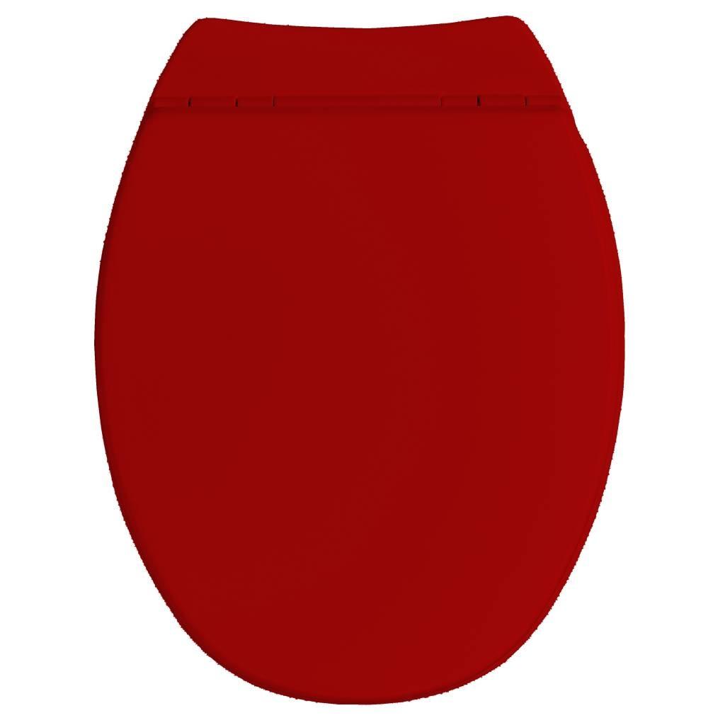 Awesome Allibert Wc Zitting Serenity2 Rood Soft Close Machost Co Dining Chair Design Ideas Machostcouk