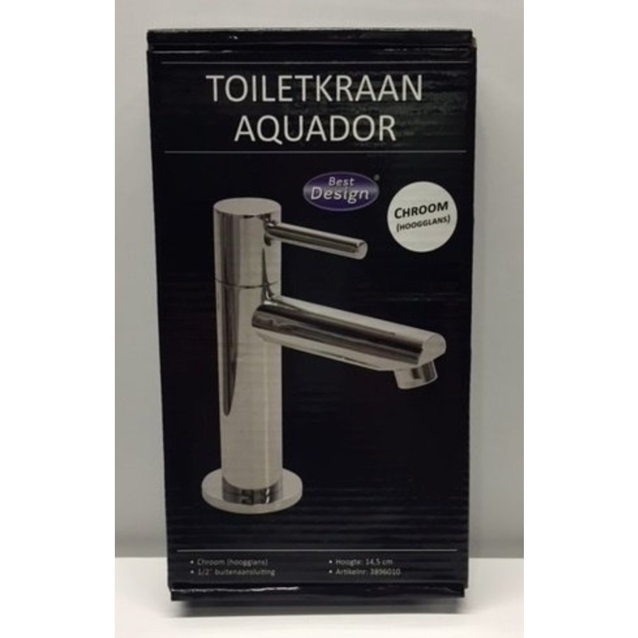 Toiletkraan Aquador