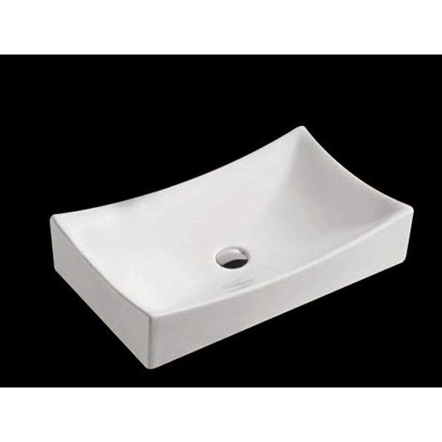 Opbouw wastafel Dicta 65x39,5x13,5 cm