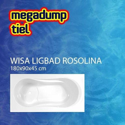 Ligbad Rosolina 180X90 Cm Wit