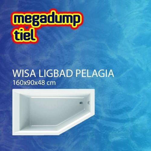 Ligbad Pelagia 160X90X48 Cm