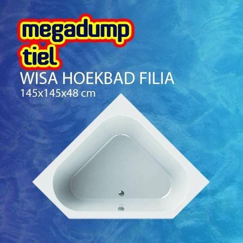 Hoekbad Filia 145X145X48 Cm