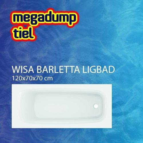 Ligbad Barletta Wit 120X70X70 Cm