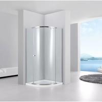 Douchecabine Kwartrond Joy 100X100X200 Cm 6 Mm Glas