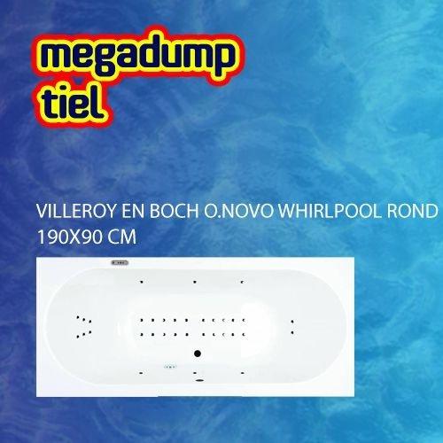 O.Novo Whirlpool Rond 190X90X50 Cm Sportpakket Deluxe