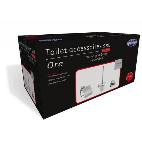 Ore Toilet Accessoires Set