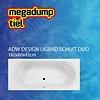 ADW Design Ligbad Schuit Duo 180X80X43 Cm