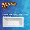 Best Design Ligbad Lounge Duo 180X80X49 Cm