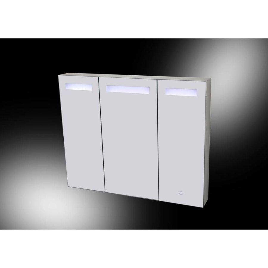 Aluma Spiegelkast 100X80Cm Led Verlichting